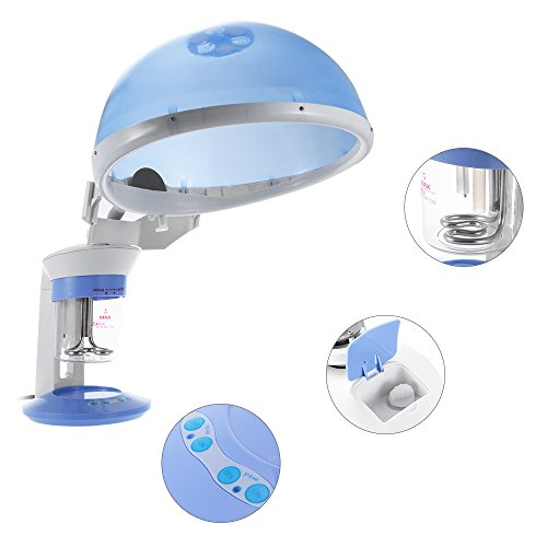 Anself Portable Face & Hair Steamer Mini Facial Hot Steamer Spa Salon Ozone Steamer