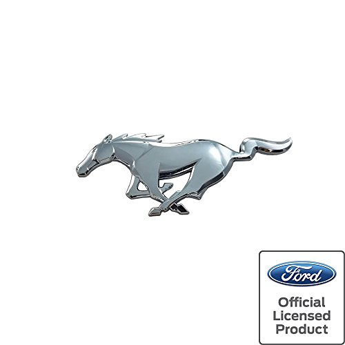 2015-2017 Mustang Pony Rear Emblem Chrome Ford Officially Licensed - Mustang Pony