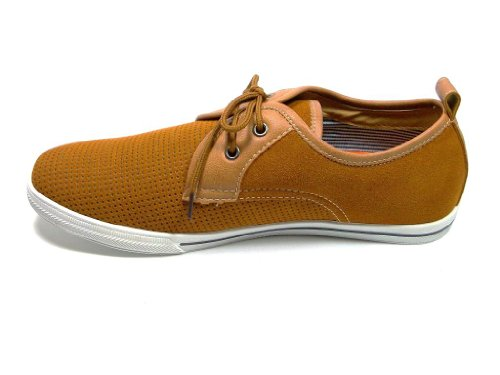 Polaire Vos Heren 30179s-bruine Low-cut Casual Sneakers