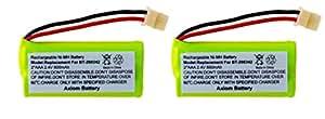 Axiom (TM) Rechargeable Battery For VTech BT166342 / BT266342 / BT183342 / BT283342 (2-Pack)