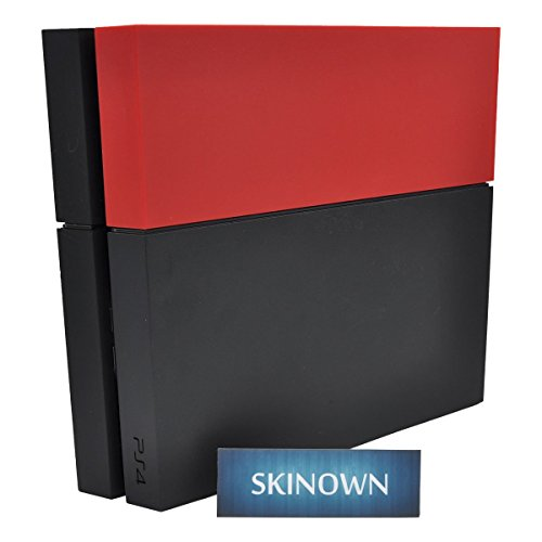 skinownr-metal-like-metallic-red-hdd-bay-hard-drive-cover-shell-replacement-faceplate-for-ps4-consol