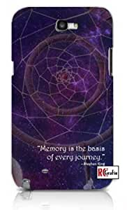 Dream Catcher Outer Space Stephen King Quote Apple Iphone 5 Quality TPU Soft Rubber Case for Iphone 5/5s - AT&T Sprint Verizon - White Case