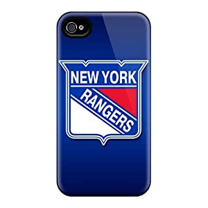 High Quality Mobile Case For Iphone 4/4s With Allow Personal Design HD New York Rangers Pictures KerryParsons