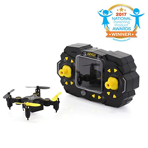 Tenergy TDR Sky Beetle Stunt RC Camera FPV Quadcopter Drone with Docking Transmitter Auto Hovering WiFi App Control