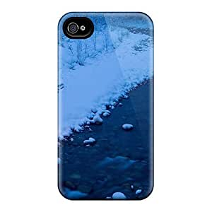 IONVtcE2512CRlHK Anti-scratch Case Cover Maria N Young Protective Small Christmas Tree By A Wonderful River Case For Iphone 4/4s