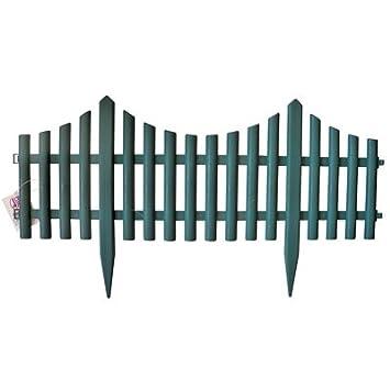 Delightful Garden Fence 24 Inch Green