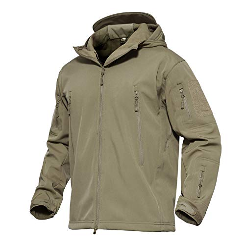 Magcomsen Men'S Hooded Tactical