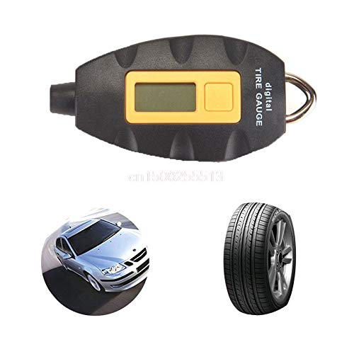 Car Auto Van Digital LCD Tyre Air Pressure Gauge Tester Measurement Motorcycle