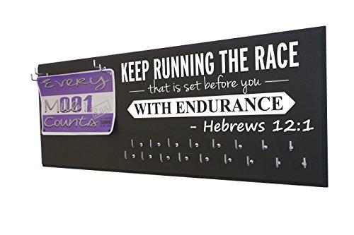 RunningontheWall Display RUNNING ENDURANCE HEBREWS product image