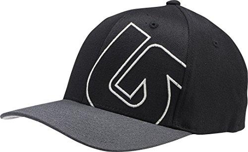 (Burton Boys Slide Style Flex Fit Cap, True Black, One)