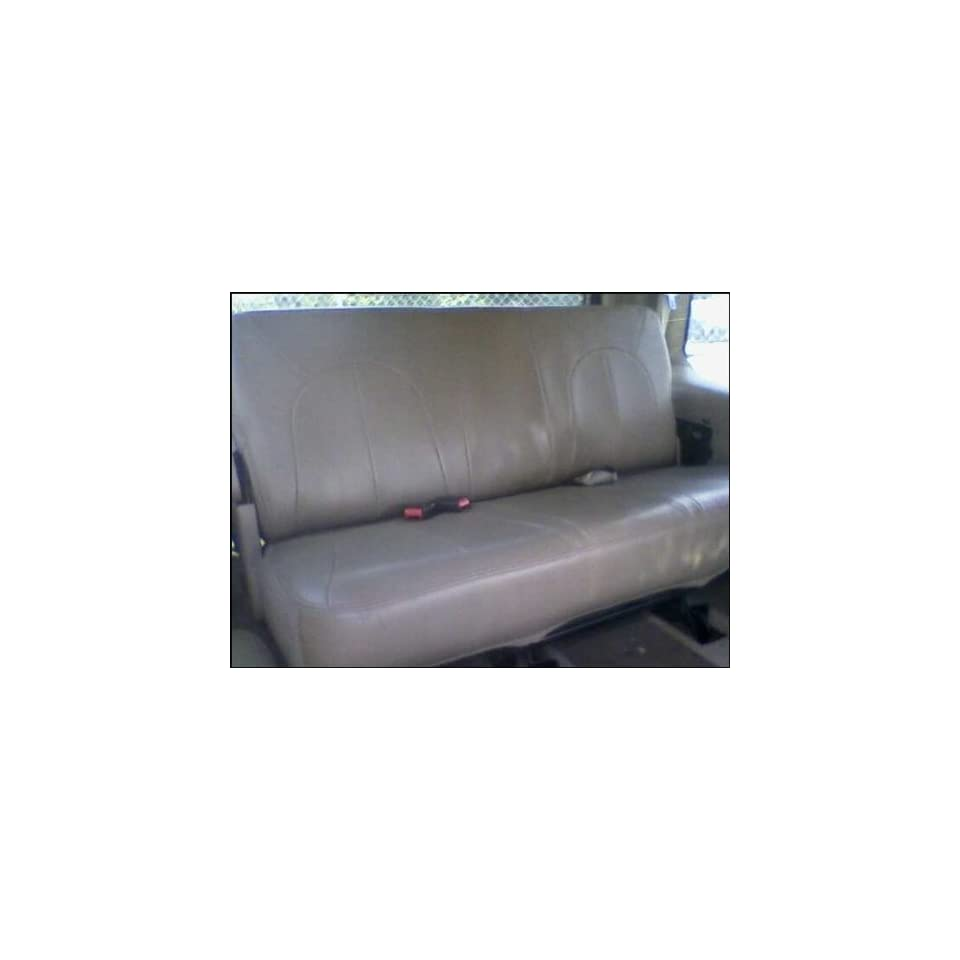 1997 2002 Ford Expedition / Navigator Third Row Seat Tan Leather 3rd row