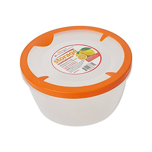 Lucky Tree Easy Pack Plastic Food Storage Container BPA Free Microwave Oven Freezer Safe,65 OZ
