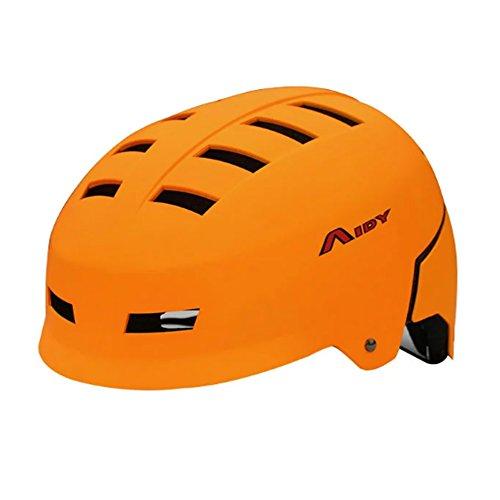 Cool Orange Rouleau/vélo/skateboard Casques (Tour de têteâ€