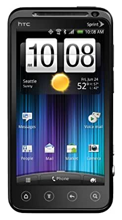 HTC EVO 3D 4G Android Phone, Black (Sprint)