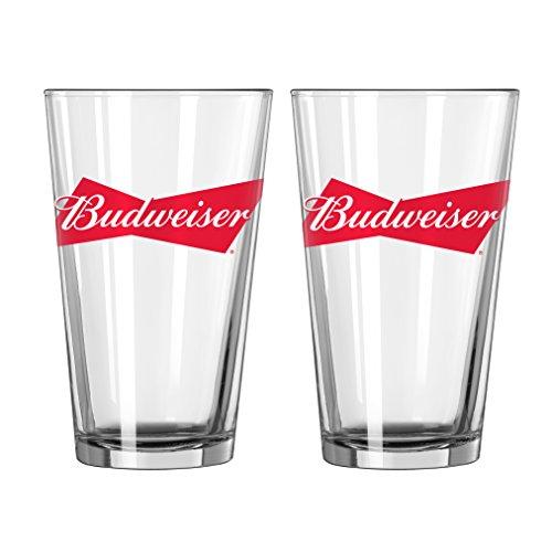boelter-brands-budweiser-bowtie-pint-16-ounce-2-pack