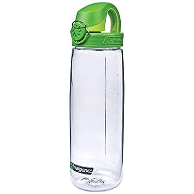 Nalgene Tritan On The Fly Water Bottle, Clear/Green, 24Oz