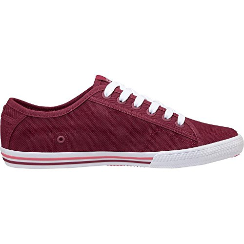 W Canvas Red 655 Plum Deporte para Shell Mujer Rojo de Hansen 41 Oslofjord Zapatillas EU Helly Persian 5w1tH1