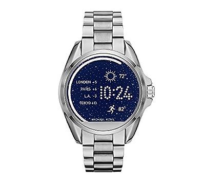 Michael Kors Access Unisex 45mm Silvertone Bradshaw Touchscreen Smart Watch from Michael Kors