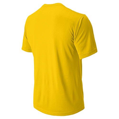 New Balance Mens Nb Kort Ärm Fuktspridande Tech Tee Shirt Tmo Tmorange