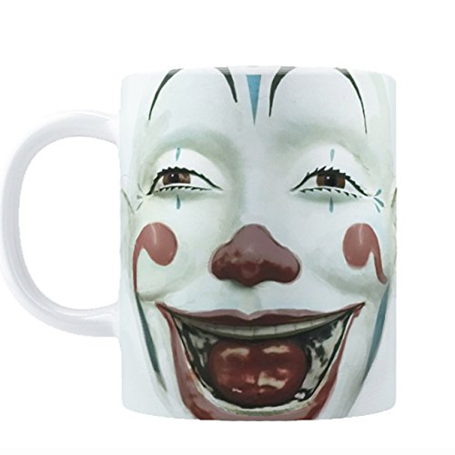 Retro Clown Face Coffee Mug (11oz)