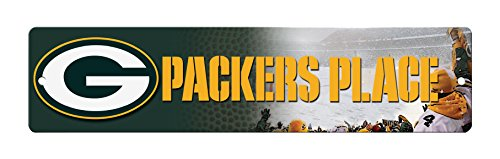 NFL Green Bay Packers High-Res Plastic Street Sign