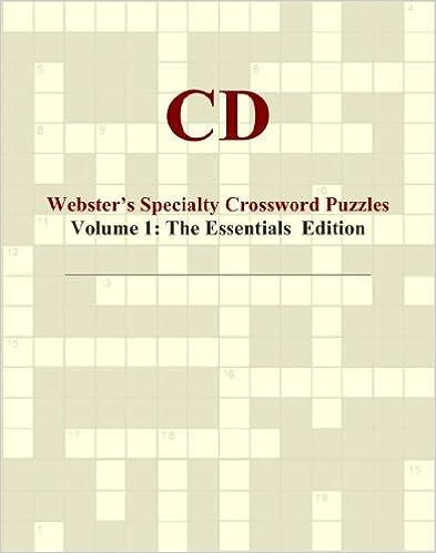 Descargar Utorrent 2019 Cd - Webster's Specialty Crossword Puzzles, Volume 1: The Essentials Edition PDF Gratis Sin Registrarse
