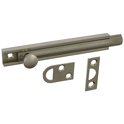 National Hardware N336-214 MPB1922 Flush Bolt in Satin - Bolt Flush Satin