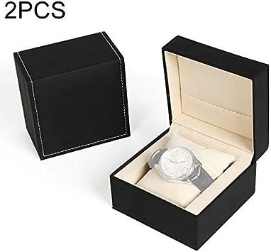 Caja de almacenaje Caja Protectora Zys 2 PCS SBH002 PU Reloj de ...