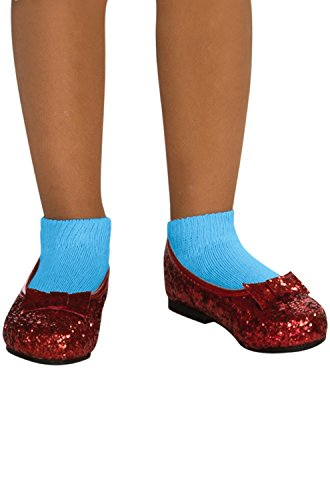 Dorothy Shoes From The Wizard Of Oz (Wizard of Dorothy Deluxe Ruby Red Costume Shoes)