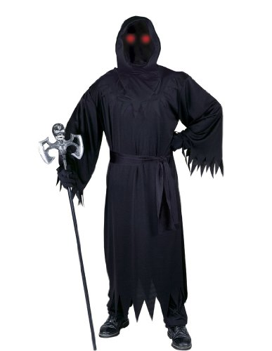 Fun World Men's Adult Fade in and Out Phantom Costume, black Standard -