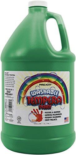 pro-art-1-gallon-washable-liquid-tempera-green