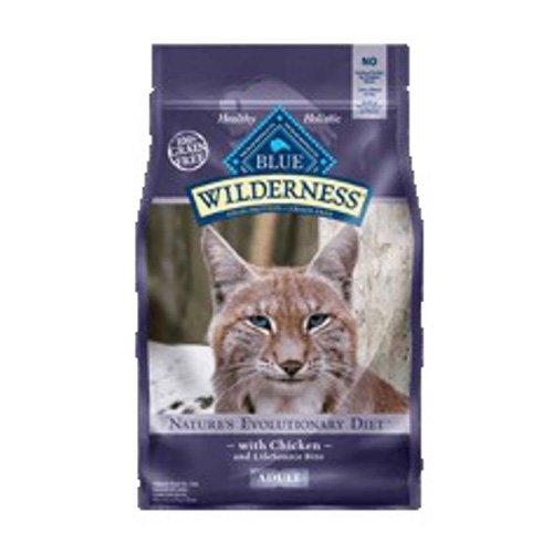 BLUE Wilderness Adult Grain Free Chicken Dry Cat Food 2.5-lb