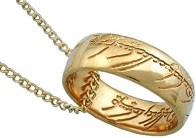 Lord of the Rings The One Ring Lotr Stainless Steel Men/'s Ring Chain Necklace
