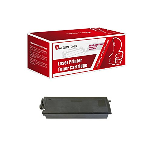 Awesometoner Compatible Black Brother Toner Cartridge TN-430 (3,000 Page Yield) for Brothe…