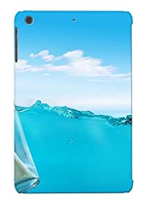 Crazinesswith Scratch-free Phone Case For Ipad Mini/mini 2- Retail Packaging - Message In A Bottle