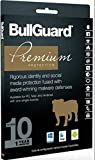 Software : BullGuard Premium Protection 2019 - 10 Devices / 1 Year [Key card]