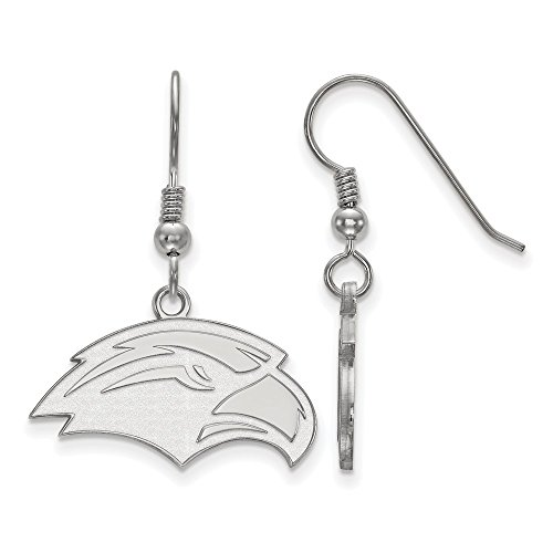 925 Sterling Silver Officially Licensed University College of Southern Licensed Small Dangle Wire Earrings by Mia's Collection