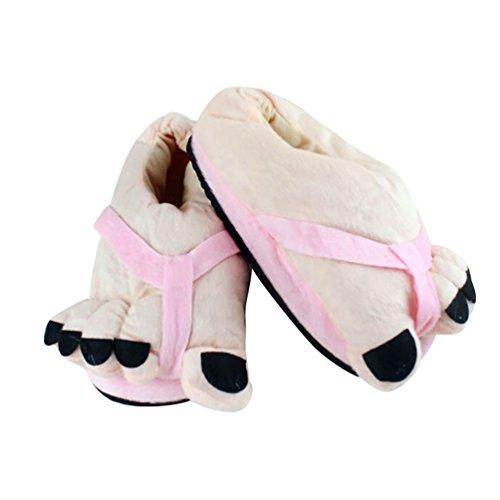 Comode Peluche da Halloween 36 da di Pink Scarpe Cosplay Invernali Pantofole Casa Calde Unisex Taglia 38 Ciabatte YOUJIA PRqwz0Z