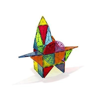 Magna Tiles Metropolis 110Piece Set, The Original, Award-Winning Magnetic Building Tiles for Kids, Creativity & Educational Building Toys for Children, Stem Approved: Toys & Games