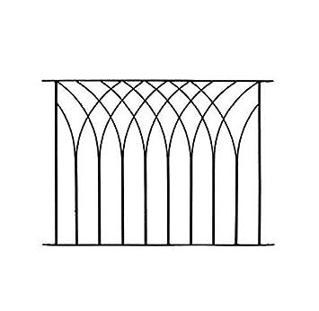 Nova Modern Metal Deck Decking Fence Fencing Panel LPNB