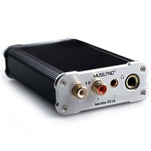 Amazon.com: MUSILAND tarjeta de sonido 03US Digital Estéreo ...