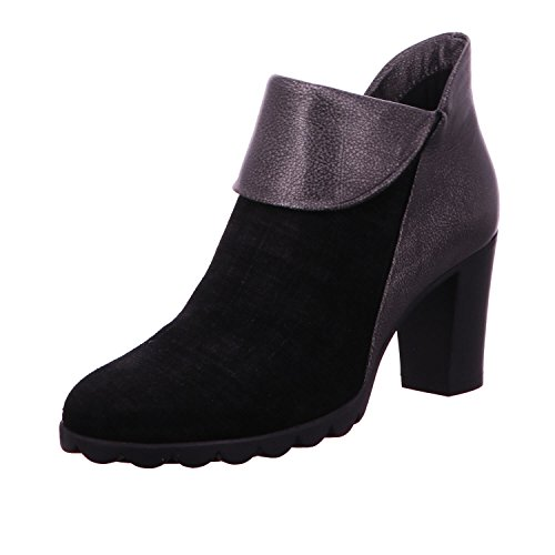 The Silver With 21 Women's Heel Shoes Flexx Boot A701 Black rxI1Fzrwq