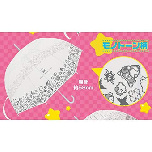 キャラソル 星のカービィ オリジナルデザイン傘 モノトーン柄単品 キャラソルシール1枚付き!
