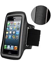 iPhone 6 / iPhone 6S (4.7 بوصة) حامل هاتف محمول لرياضات الصالة الرياضية والجري والركض أسود