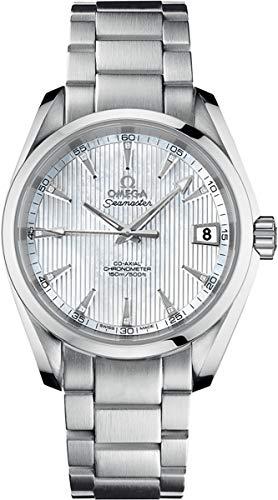 Omega Men's 231.10.39.21.55.001 Seamaster Aqua Terra Mid Size Chronometer Mother of Pearl Dial ()