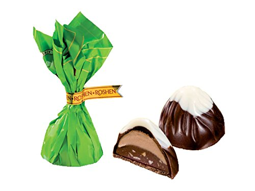- Mix of Roshen Mont Blanc Chocolate Candy (Yellow & Green, 1Lb)