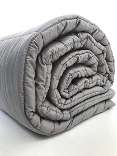 Weighted Blanket 20 lbs 60x80 inches Queen Size - Premium Gravity Heavy Blanket - Great Sleep Therapy for People with Anxiety - Autism - ADHD - Insomnia or Stress - Cotton - Glass Beads by Zotlex (Image #9)