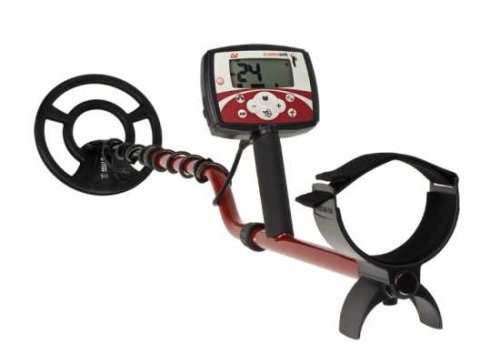 Minelab X-Terra 505 Universal Hand Held Metal Detector Battery Powered 3705-0113 with Pinpoint Indicator and Multi-Segmented Notch - In Target Chicago Locations