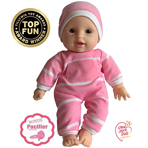 11 inch Soft Body Doll in Gift Box - Award Winner & Toy 11 Baby Doll (Caucasian)
