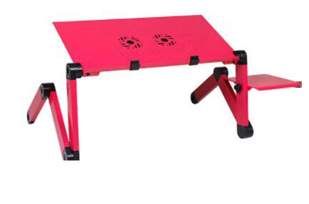 PsgWXL PsgWXL PsgWXL Notebook Stand Bed Lazy Computer Table Long Ventilador Doble Plus Mouse Plate Aleación De Aluminio con Calor Se Puede Doblar Y Levantar para Proteger La Columna Cervical 53dd1d